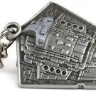 Diageng Star Wars Star Destroyer Replica Keychain