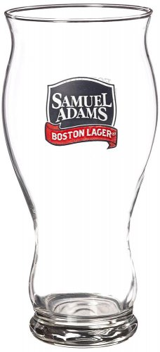 New 22 Ounce Extra-large Samuel (Sam) Adams Perfect Pint Set of 2