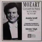 Mozart Concerti for Piano No. 27, K595 & No. 19, K459