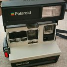 Vintage Polaroid Sun 600 LMS Instant Camera Works Great