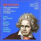 Beethoven: Piano Concerto No. 4 in G Major / Symphony No. 5 in C Minor