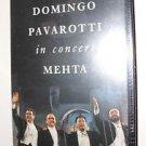 The original Three Tenors Concert (Carreras Domingo Pavarotti in Concert Mehta)