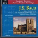 J.S. Bach: Little Fugues and Little Preludes with Fugues (Master Composer Col...