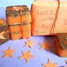 Luck Magic wax melts, herb wax melts, witchcraft supplies