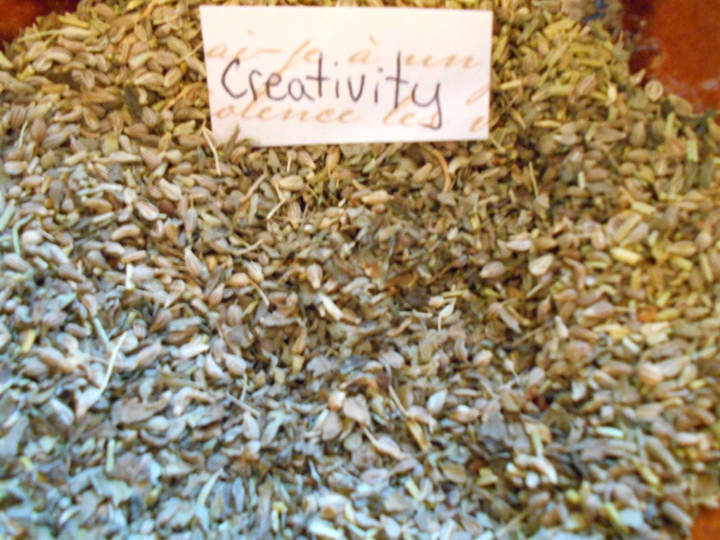 Herb Creativity incense magical blend, for spell work, witchcraft supplies