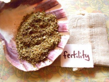 Fertility pillow pouch for fertility spells and pagan, witchcraft