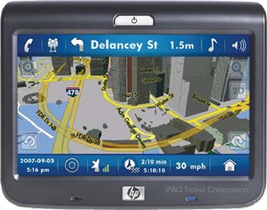 "HP iPAQ 310 4.3"" Auto Car GPS Navigation Bluetooth"