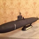 1:350 French Triomphant class ballistic submarine complete model