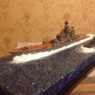 Soviet/Russian Battlecruiser ship Pyotr Velikiy Kirov class and submarine Kursk