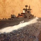 1/350 Soviet/Russian battle cruiser Sovremenny class complete model with diorama