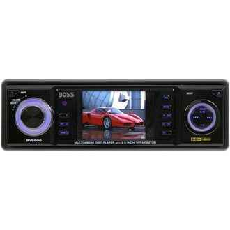 """Boss BV6850T Mobile DVD/MP3/CD Receiver with 2.5"""" TFT Full Color Monitor With TV Tuner"""