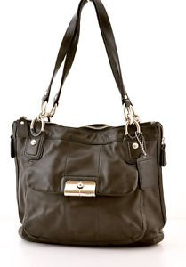 COACH 18298 Leather Kristin shoulder bag purse