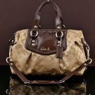 Coach F19242 Ashley Signature Satchel Convertible Handbag shoulder bag