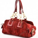 Coach F10061 Suede Soho Satchel shoulder bag