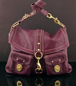 Coach G0982-F14043 Brooklyn EXTRA LARGE shoulder Bag Messenger satchel