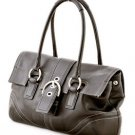 Coach F10913 Soho Leather Flap Satchel shoulder bag