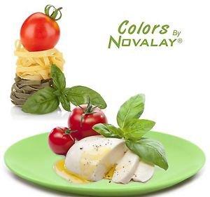 DINNERWARE FOUR Dinner plates matte pistachio green ceramic, kitchen plates