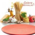 DINNERWARE FOUR Dinner plates MATTE Pink ceramic kitchen plates