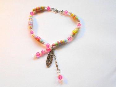 Angel charm bracelet,