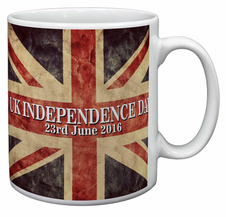 Brexit, British Flag Independence Day 2016 Coffee/Tea Mug Christmas Stocking Filler