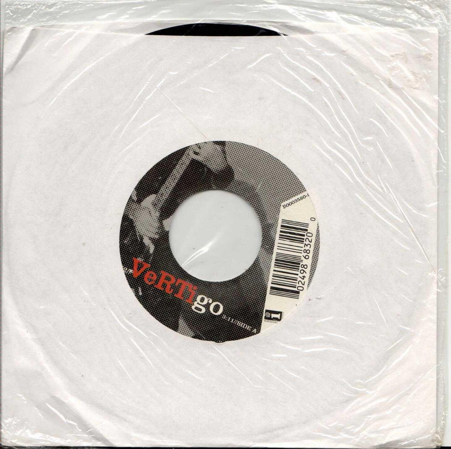 """U2 Vertigo 2004 US 2 Track 7"""" Vinyl Single"""