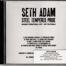 SETH ADAM Steel Tempered Pride 2013 US 10 Track Promotional CD Album