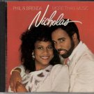 PHIL & BRENDA NICHOLAS More Than Music 1990 US 11 Track CD Album