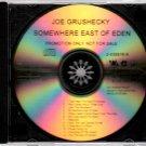 JOE GRUSHECKY Somewhere East Of Eden 2013 US 12 Track Promotional CD Album