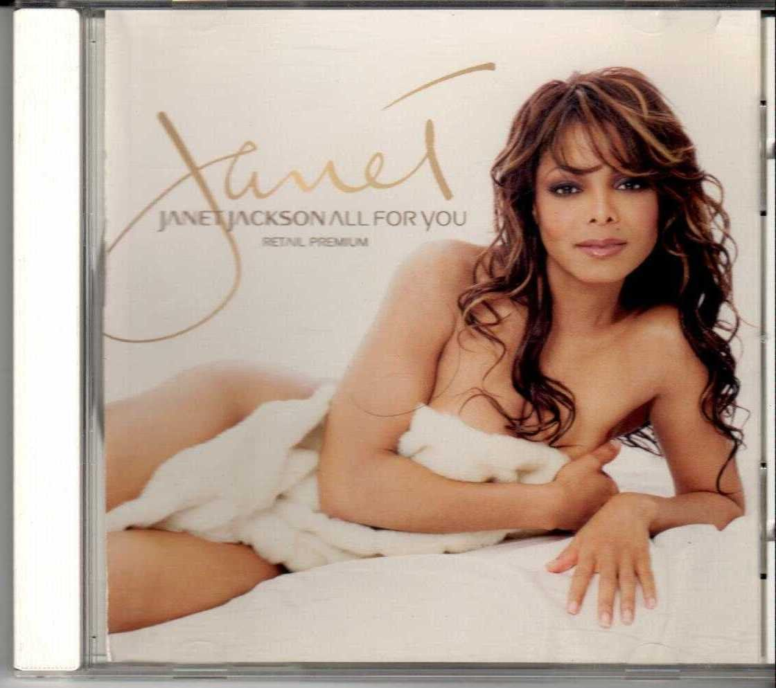 JANET JACKSON All For You Retail Premium 2001 US 2 Track Promotional CD Sampler
