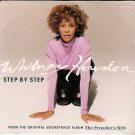 WHITNEY HOUSTON Step By Step 1997 US 2 Track CD Single