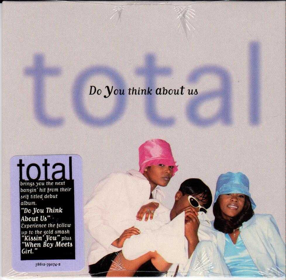 TOTAL Do You Think About Us 1996 US 2 Track CD Single