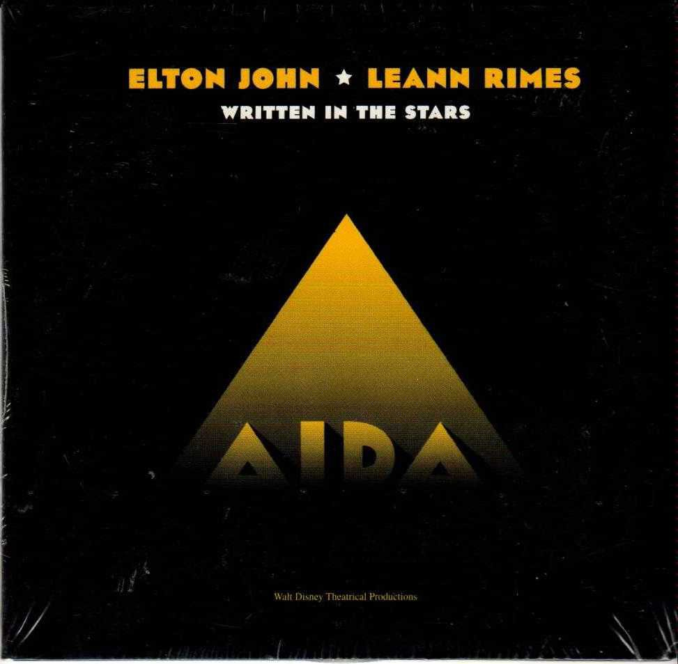 ELTON JOHN & LEANN RIMES Written In The Stars 1999 US 3 Track CD Single