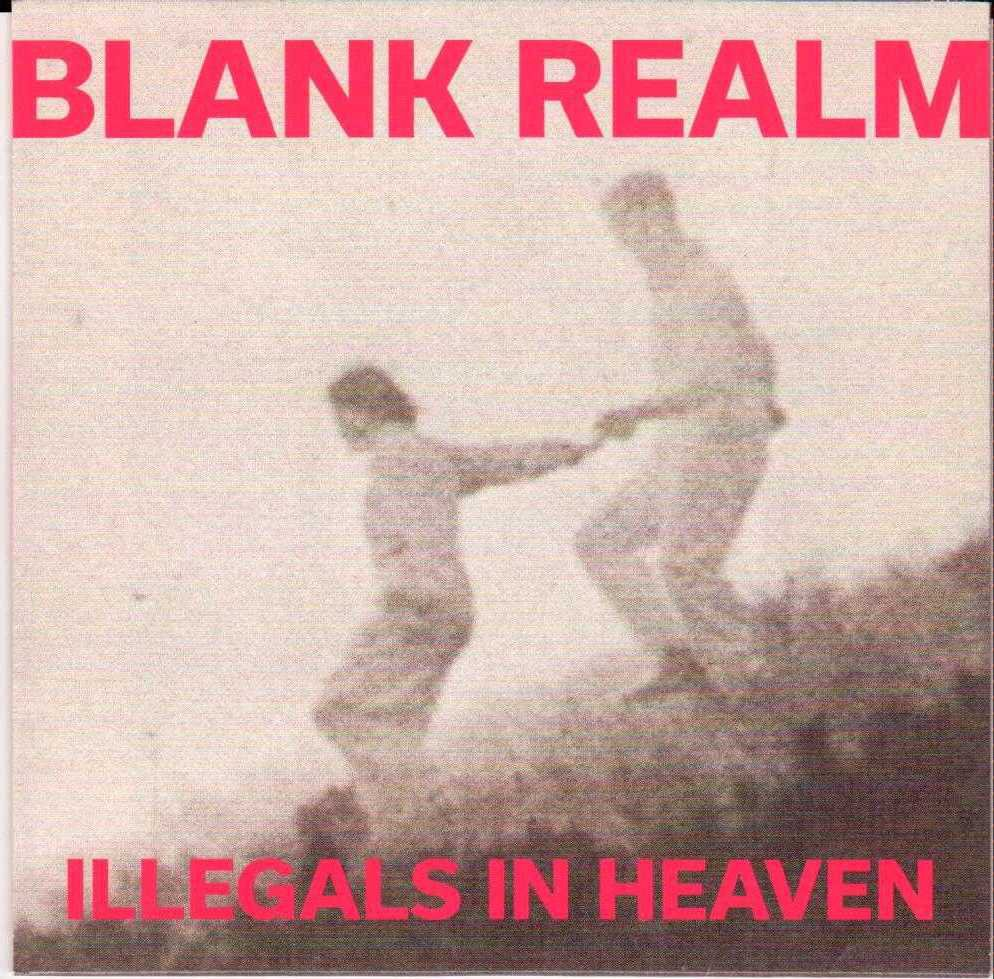 BLANK REALM Illegals In Heaven 2015 US 9 Track Promotional CD Album