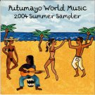 PUTUMAYO WORLD MUSIC 2004 Summer Sampler 2004 US 8 Track Promotional CD Various