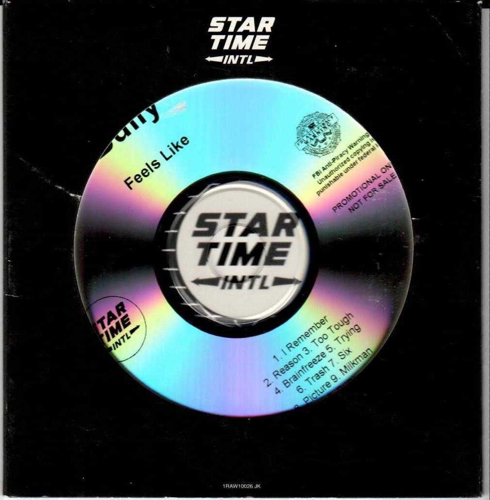 BULLY Feels Like 2015 US 11 Track Promotional CD Album