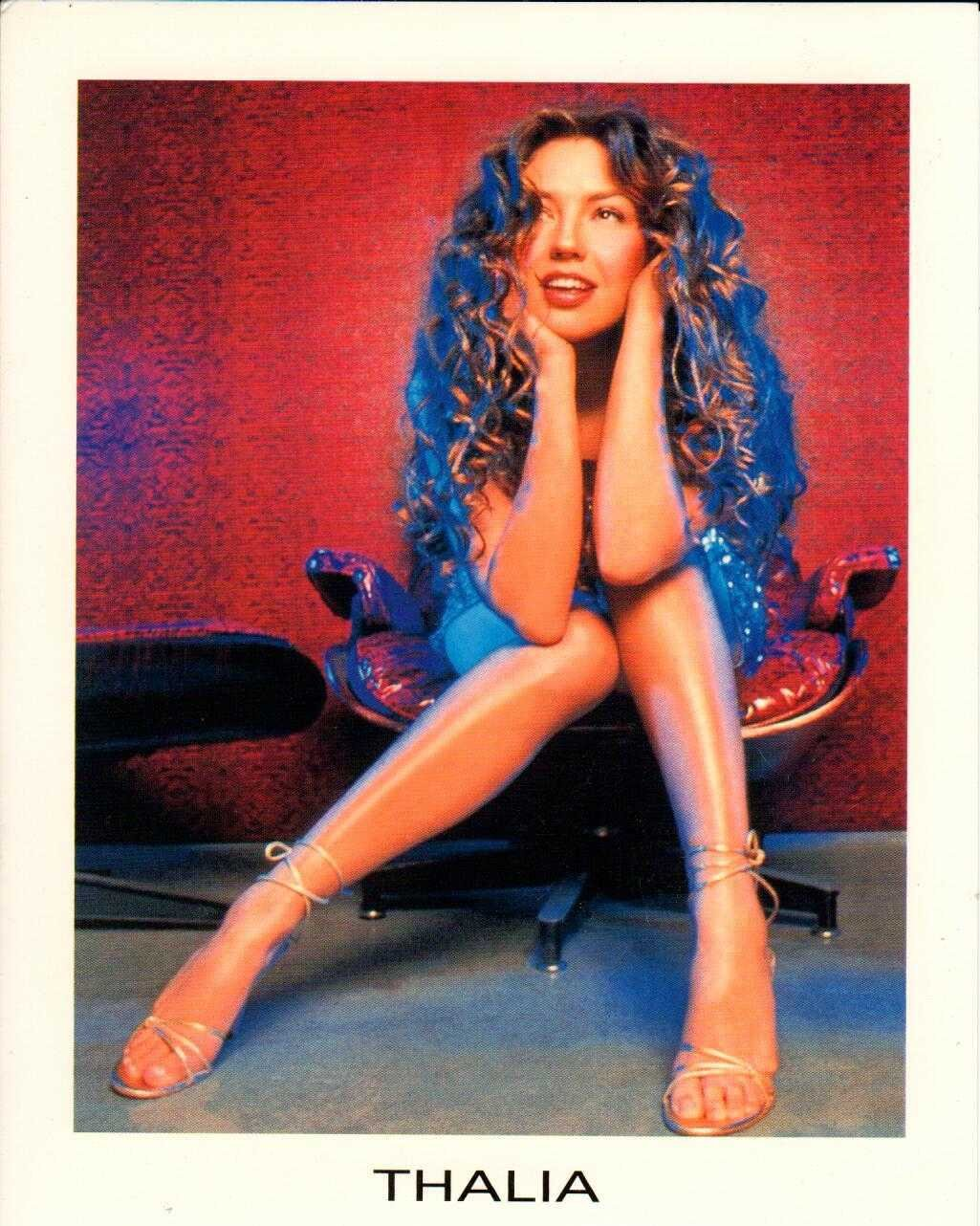"THALIA Regresa A Mi 2000 US 5"" X 7"" Official Two Sided Postcard"