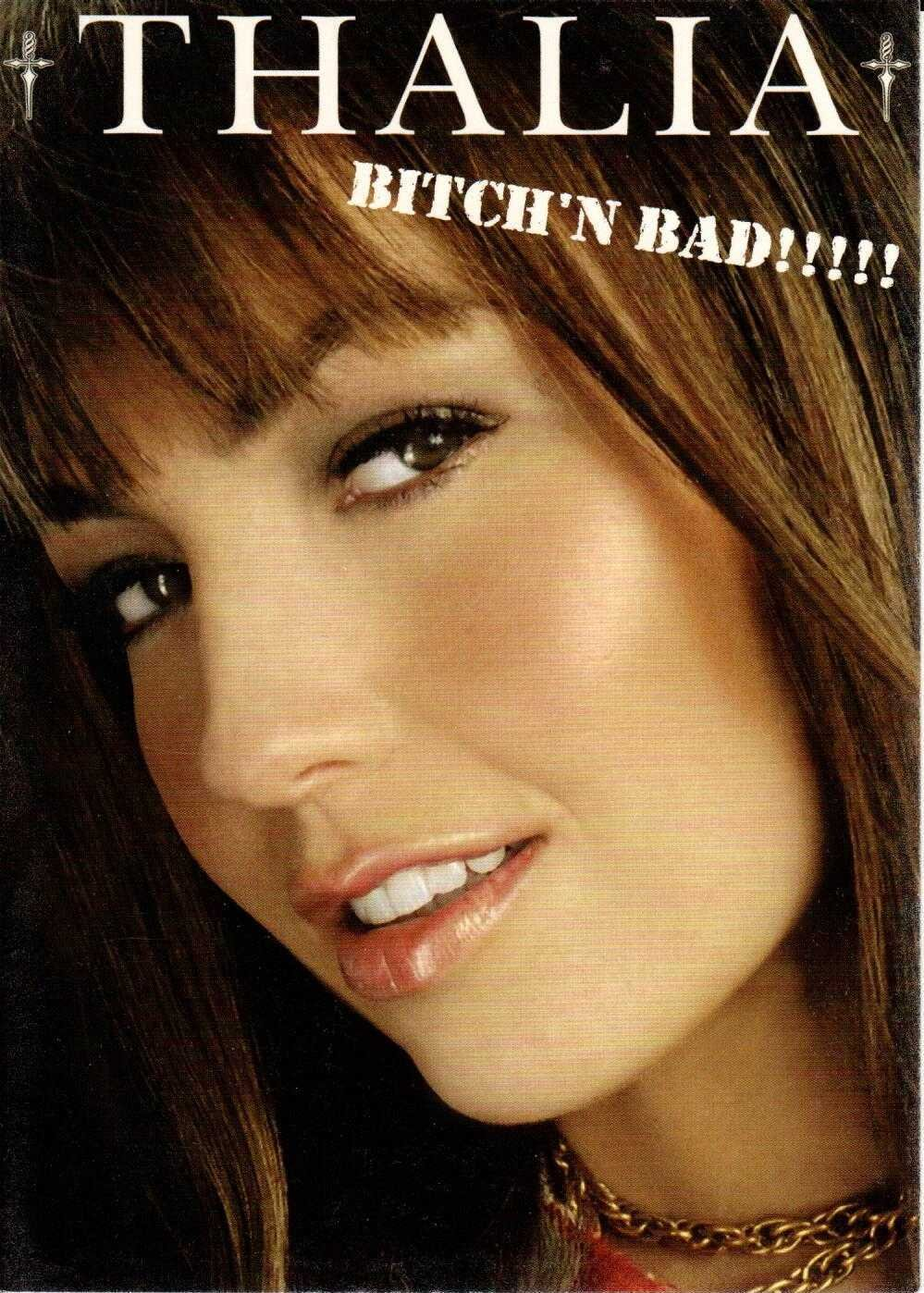 """THALIA Bitch'n Bad 2000 US 5"""" X 7"""" Official Two Sided Postcard"""