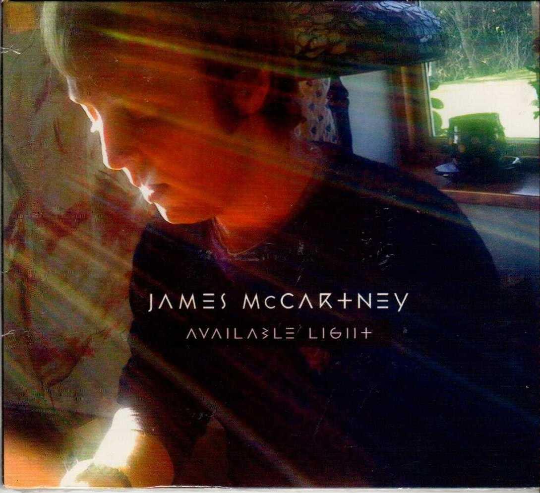 JAMES MCCARTNEY Available Light 2010 US 5 Track Promotional CD Sampler