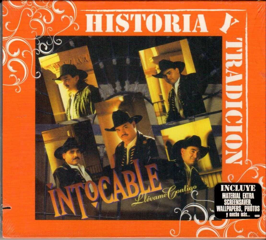 INTOCABLE Historia Y Tradicion 2007 US 12 Track Enhanced CD Album