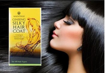 Ginseng Silky Hair Coat -Regrowth Repair Treatment Serum Natural Herbal Extract