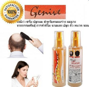 Genive Natural Hair Tonic -Standardized Extract Hair Loss Treatments