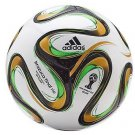 Replica WC 2014 Brazuca Final Rio Official 6 Panel Match Ball Fifa Approved Adidas Soccer Ball