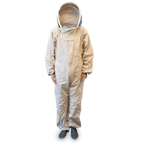 Large Size Cotton Beekeeper Bee Suit Animal Handling Pest Control Fence Veil protection