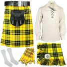 Size 34 Traditional Highland Scottish Macleod of Lewis kilt-Skirt Deal