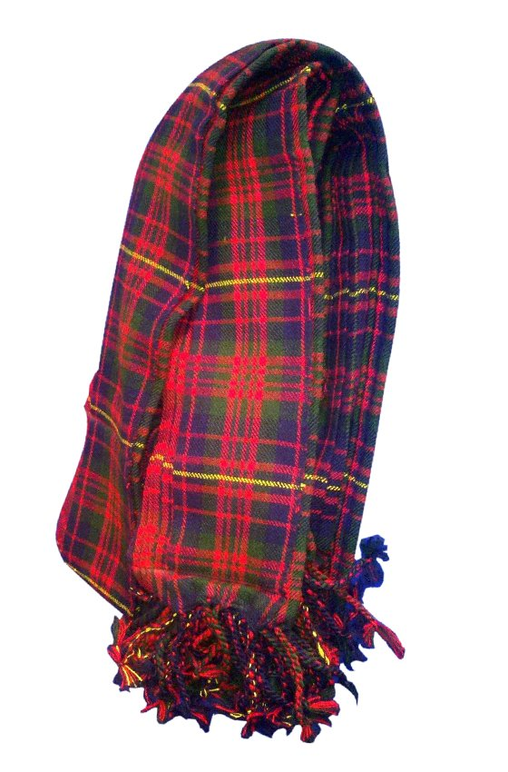 Cameron Tartan Piper Plaid Pleated. 8oz.
