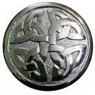 "3"" Celtic Kilt Fly Plaid Brooch Irish"