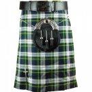 32 Inches Traditional Highland Scottish Dress Gorden Tartan kilt-Skirt
