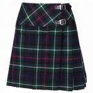 New Ladies MacKenzie Tartan Scottish Mini Billie Kilt Mod Skirt Size 26