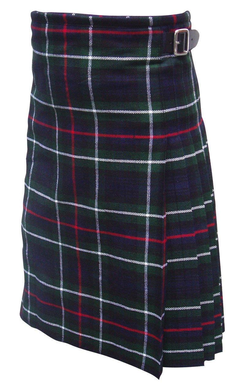 Size 34 Scottish Highland Modern Utility Pocket Mackenzie Tartan Prime Active Men kilts