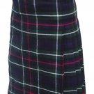 Size 40 Scottish Highland Modern Utility Pocket Mackenzie Tartan Prime Active Men kilts